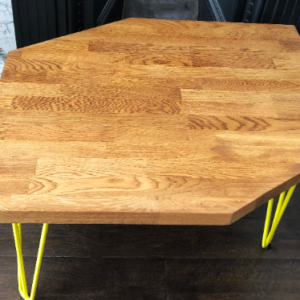 Oak Diamond coffee table