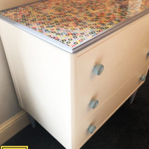 Button Top Drawer unit