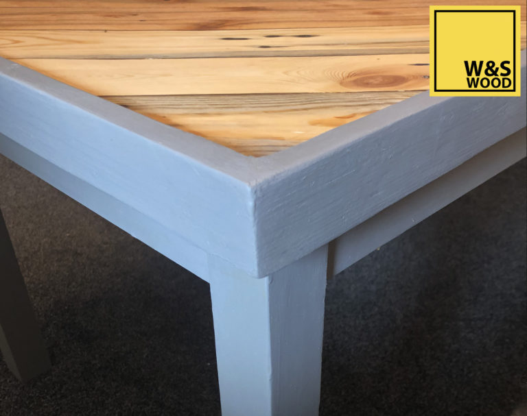 Pallet Wood Table Construction