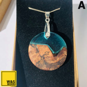 Blue Night Sky Pendants