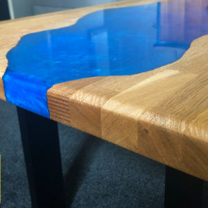 Metallic River Run Table