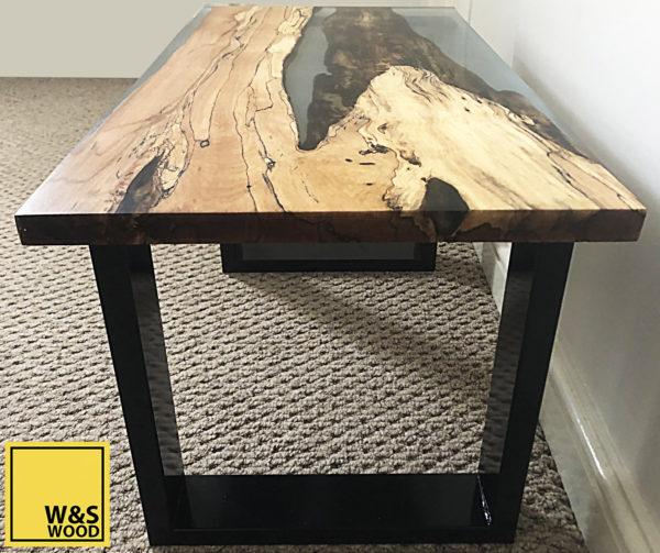river run table top side view