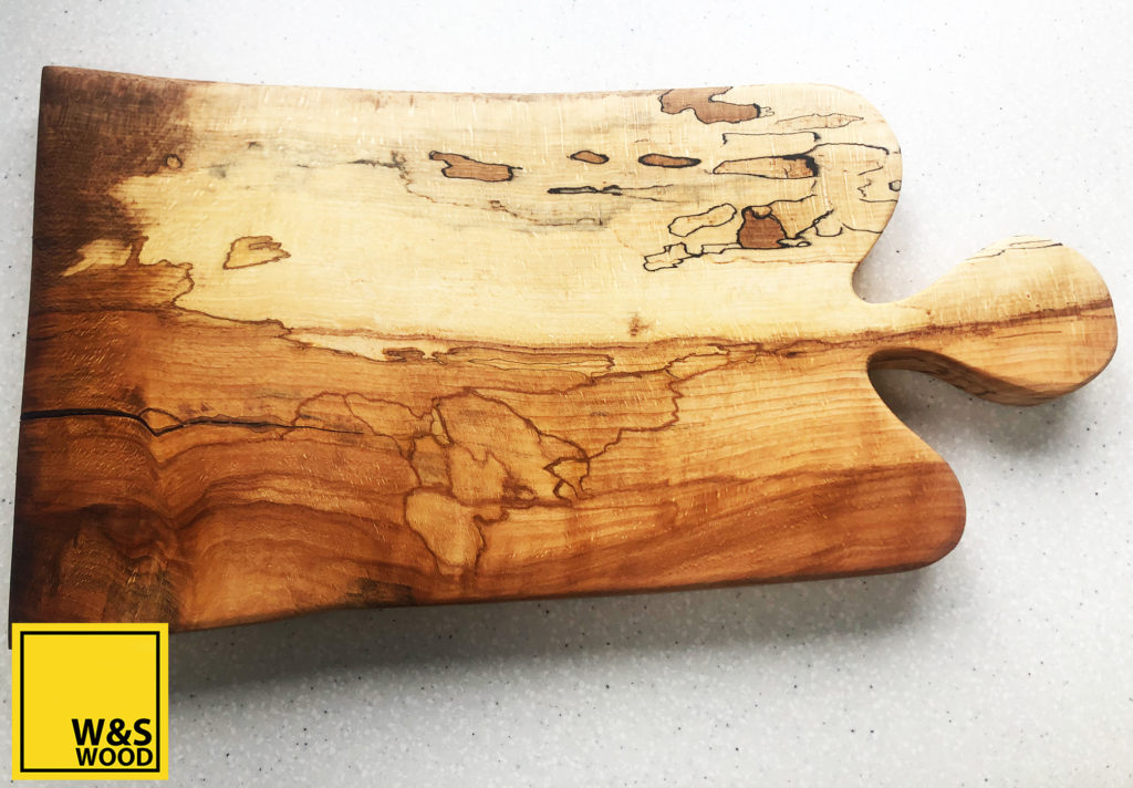 Lovely Beech Wood Charcuterie Board