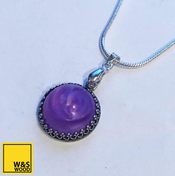 February domed pendant