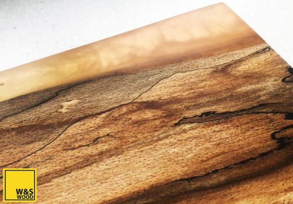 Orange resin chopping board