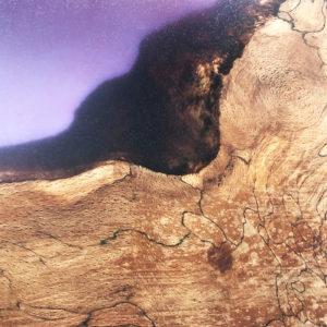 Purple Resin Chopping Board