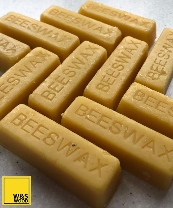 Multiple beeswax bars