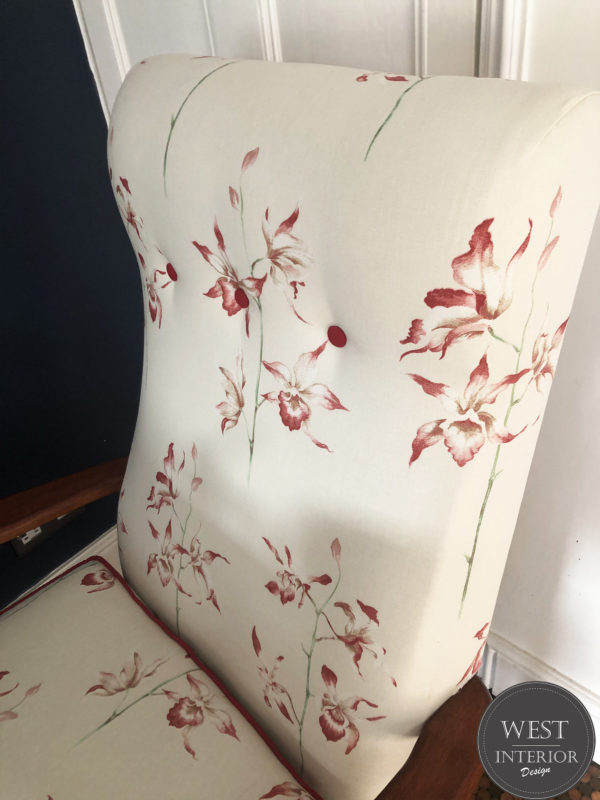 sanderson chair side view