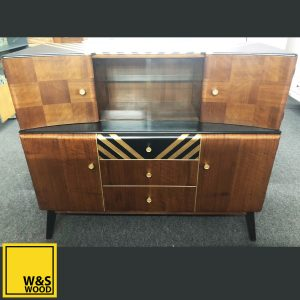 beautility gold stripe sideboard