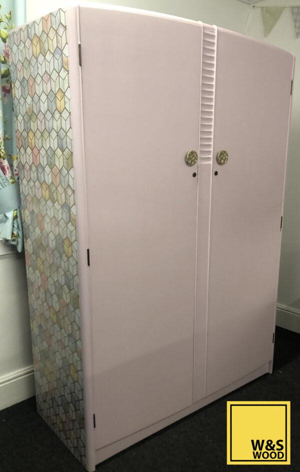 Pink stag wardrobe