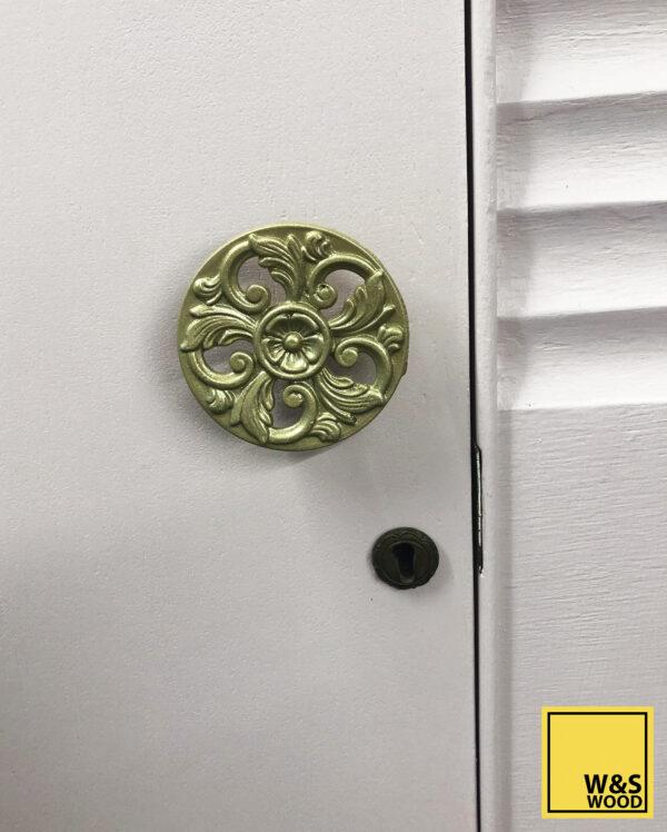 pink stag door handle