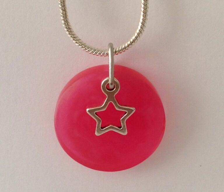 July Birthday Colour Pendants