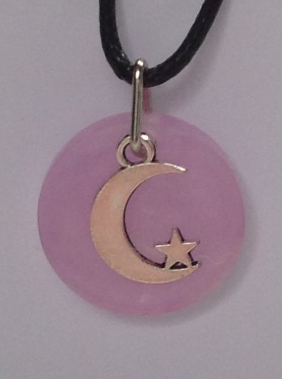 October Birth Colour Pendant